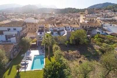 Rohbau in Pollensa mit verschiedenen Gestaltungsmoglichkeiten und Bau eines Pools mit Sonnenterrassen     PREIS REDUZIERT VON 325 000€ AUF 275