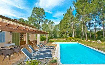 Landhaus in einer sehr ruhigen Gegend  nahe dem Golfplatz in Pollensa zu verkaufen     PREIS REDUZIERT VON 795 000€ AUF 750
