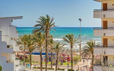 Baugrundstuck mit Teilmeerblick und Sudwest-Orientierung in zweiter Meereslinie im alten Teil von Sometimes/El Pillari (Playa de Palma)
