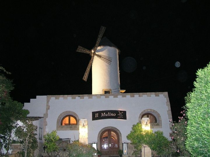 This 19th century windmill is currently being used as a restaurant and has been for the last ten years