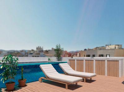 Zwei luxuriose Neubau-Stadthauser mit Dachterrassen und Pool zu verkaufen