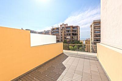 Neubau-Apartments mit Meerblick-Terrasse und Pool in Son Armadams  Palma de Mallorca