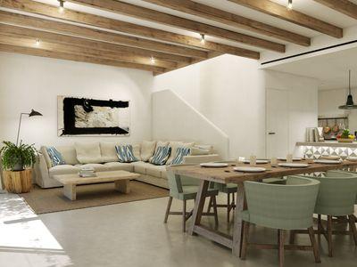 Im Bau befindliches Neubau-Apartment mit Garten (34 m²) in Son Espanyolet  Palma de Mallorca