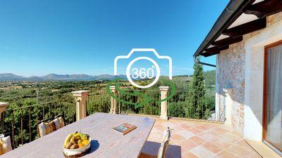 Landhaus in Alcudia  Mallorca  mit Panorama-Meerblick und Pool     DER PREIS WURDE KuRZLICH VON 2 250 000€ AUF 1 980