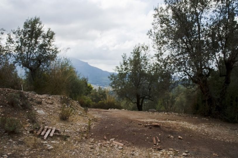 Magnificent piece of land with spectacular views of Soller and the beautiful mountains of the Biniaraix ravine
