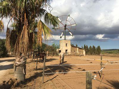 Agrotourismus Finca in Campos  Mallorca bestehend aus 6 Wohneinheiten fur 17 Platze