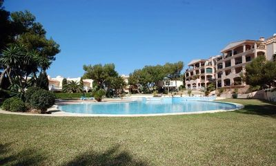 The apartment is located in the prestigeous community Green Park in the area of Nova Santa Ponsa