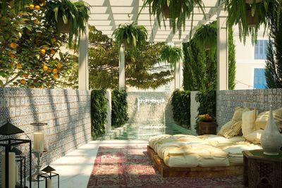 Dieses Projekt fur ein atemberaubendes  modernes Stadthaus mit offenem Blick befindet sich im schicken Viertel Santa Catalina  Palma