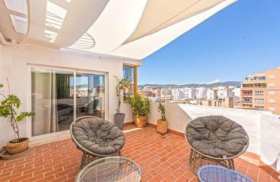 Diese Immobilie befindet sich im El Camp d en Serralta von Palma de Mallorca  Santa Catalina  Paseo Maritimo und die Altstadt sind nur einen Steinwurf entfernt