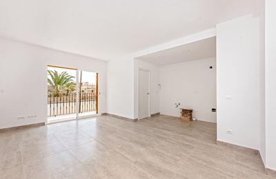 Diese helle Wohnung mit zwei Schlafzimmern in Llucmajor wird derzeit fertiggestellt