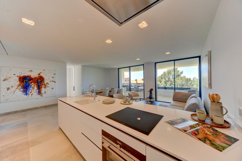 This modern apartment in a very good location impresses with its perfect combination of vacation feeling and cosy atmosphere and offers a feel-good package