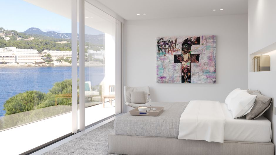 There is currently no similar new build property in such a unique location with direct access to the harbour and the sea. The property is on a plot of approx