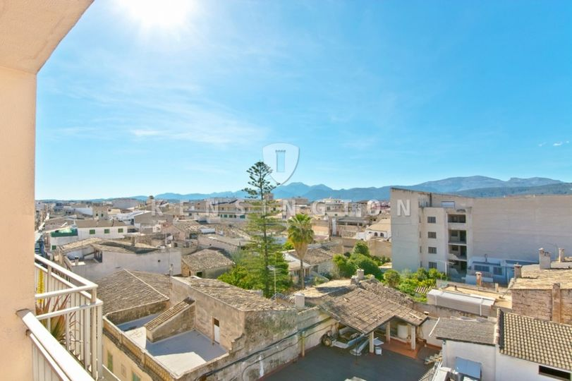 Mallorca penthouse apartment with amazing views for sale in Sa Pobla.    PRICE REDUCTION FROM 145.000 € TO 135
