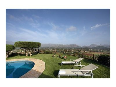 Outstanding country estate in Pollensa  the north of Mallorca  in an elevated position overlooking the whole bay and surrounding countryside