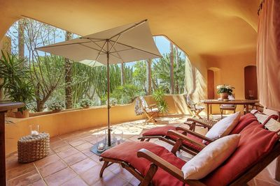This apartment is located in the sought after community Los Pampanos in Nova Santa Ponsa