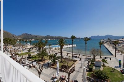 Large apartment in Puerto Pollensa at the beginning of the seaside pedestrian zone for sale    PRICE REDUCTION FROM 700 000 € TO 650