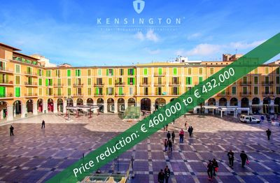Office space for sale  located at Plaza Mayor right in the centre of Palma de Mallorca Old Town  The property could be converted into an apartment