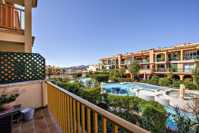 This beautiful apartment is located in the popular community of Port Adriano Village