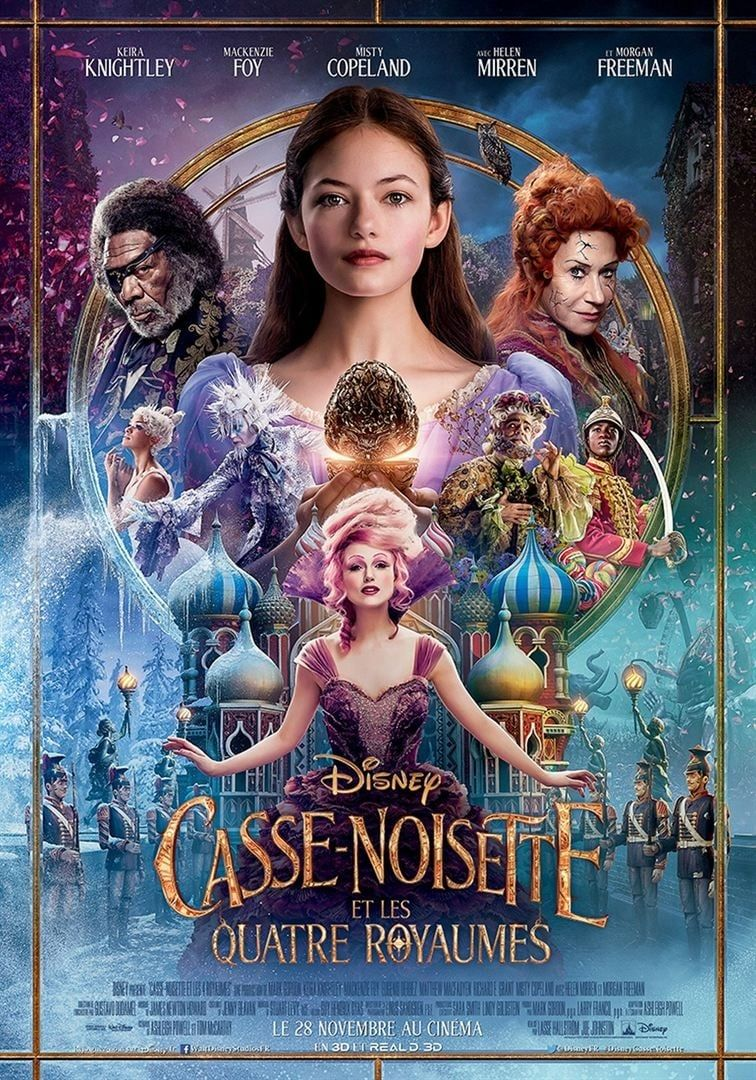 Casse-Noisette et les Quatre Royaumes 2018 bluray streaming vf