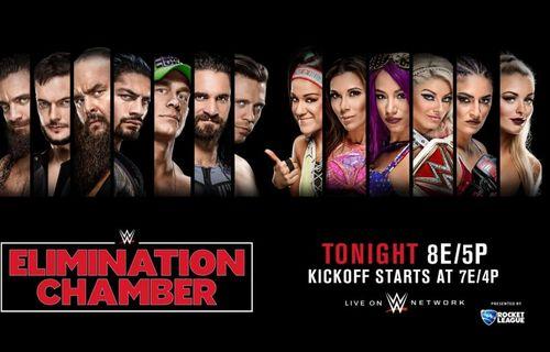 WWE Elimination Chamber 2018 FULL movie