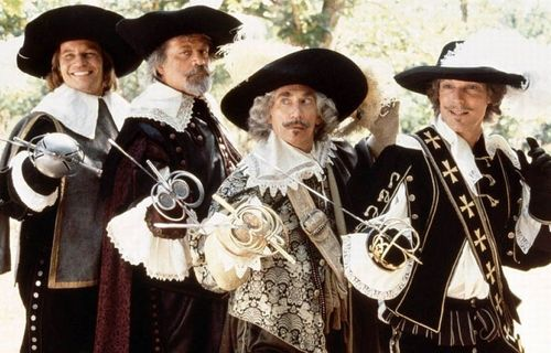 The Four Musketeers FULL movie