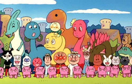 Go! Anpanman: Nosshi the Dinosaur's Big Adventure film complet