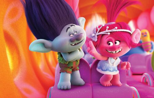 Trolls Holiday film complet