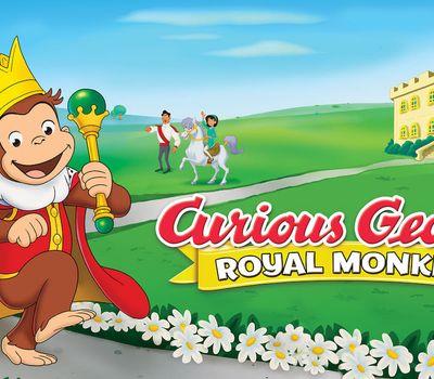 Curious George: Royal Monkey online