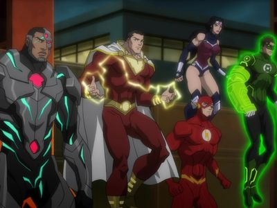 watch Justice League: War streaming