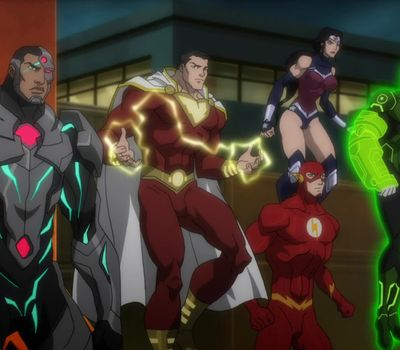 Justice League: War online