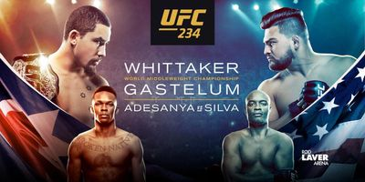 UFC 234: Whittaker vs. Gastelum en streaming