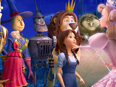 watch Legends of Oz: Dorothy's Return streaming