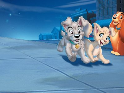 watch Lady and the Tramp II: Scamp's Adventure streaming