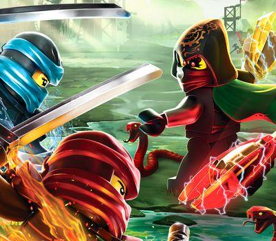 LEGO Ninjago: Masters of Spinjitzu online