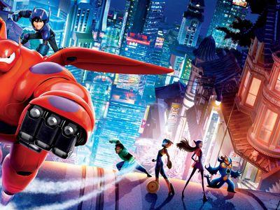 watch Big Hero 6 streaming