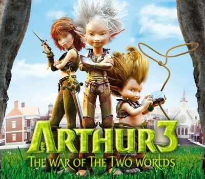 Arthur 3: The War of the Two Worlds online