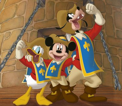 Mickey, Donald, Goofy: The Three Musketeers online