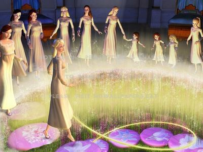 watch Barbie in The 12 Dancing Princesses streaming
