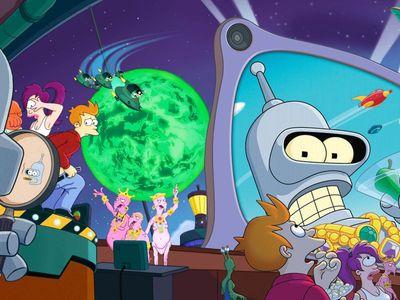 watch Futurama: Bender's Big Score streaming