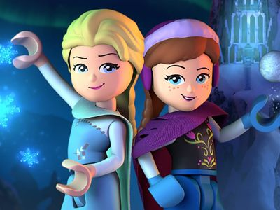 watch LEGO Frozen Northern Lights streaming