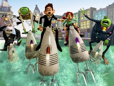 watch Flushed Away streaming