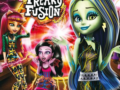 watch Monster High: Freaky Fusion streaming