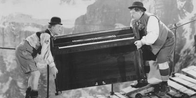 Laurel et Hardy - Les montagnards sont là ! STREAMING