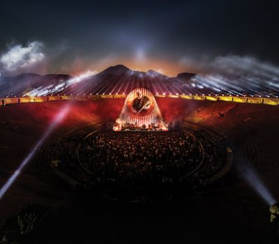 David Gilmour:  Live at Pompeii online