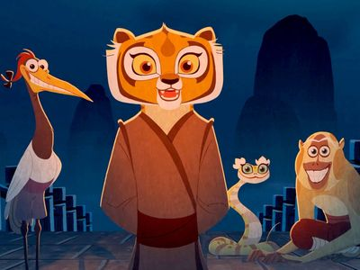 watch Kung Fu Panda: Secrets of the Scroll streaming