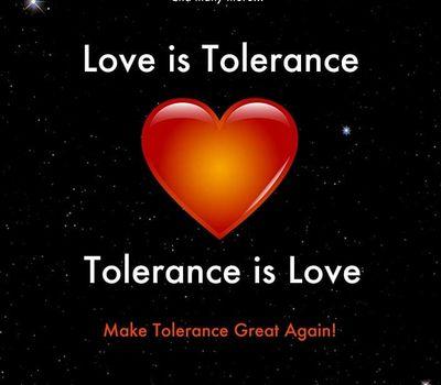 Love is Tolerance - Tolerance is Love online