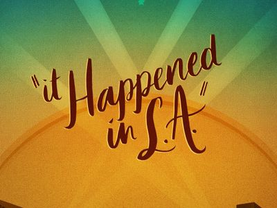 watch It Happened in L.A. streaming