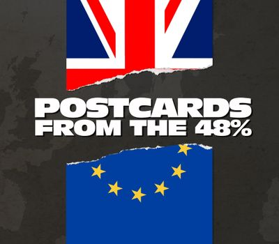 Postcards from the 48% online