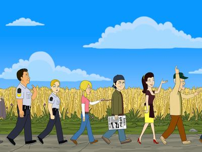 watch Corner Gas Animated streaming