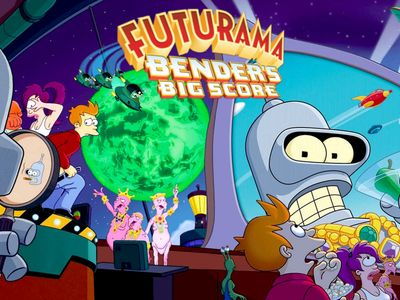 watch Futurama: Bender's Big Score streaming